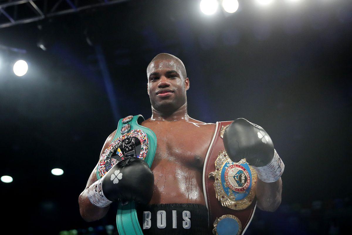 Daniel Dubois v Kyotaro Fujimoto - WBC Silver and WBO International Heavyweight Titles