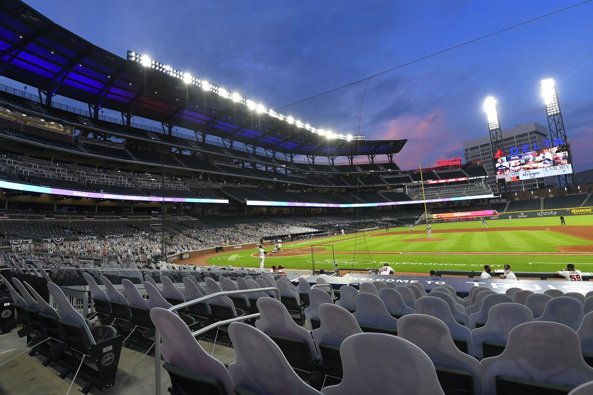 Major League Baseball announced Friday that it will move the All-Star Game from Atlanta's Truist Park in response to Georgia's new voting-rights restrictions.