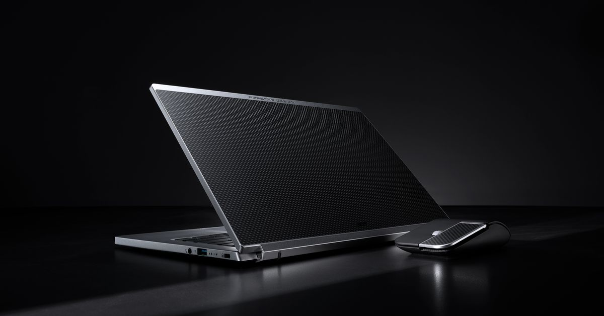 Acer teams up with Porsche Design for the luxury Acer Book RS laptop