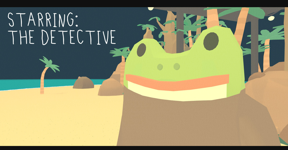 QnA VBage The Haunted Island: a Frog Detective Game is a farcical tale of ghosts, vacations to Indonesia, and overzealous dental care