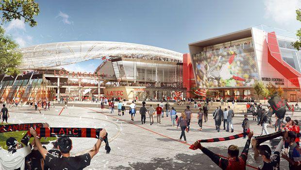 LAFC museum view rendering