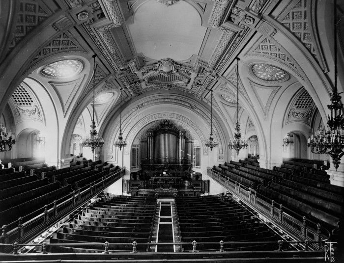 Inside 361 CPW circa 1909