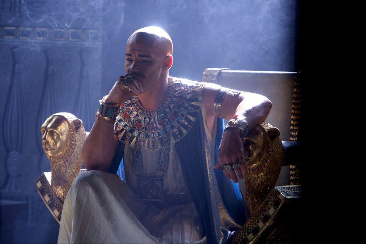 Joel Edgerton as Ramses in Exodus: Gods and Kings