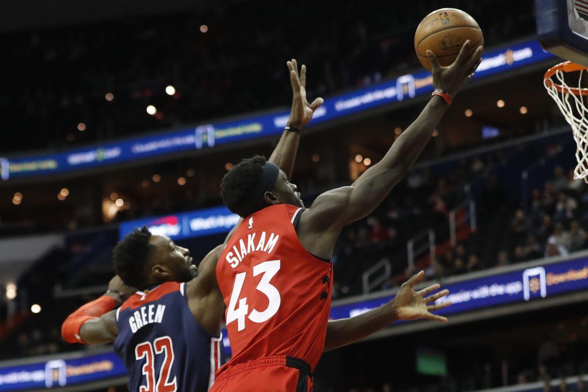 NBA: Toronto Raptors at Washington Wizards