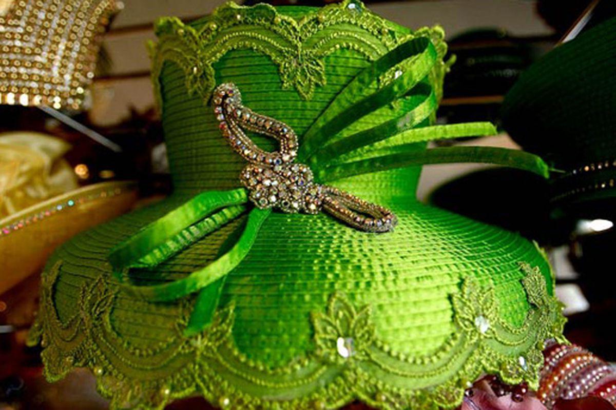 "Image via the LA Times Easter hat <a href=""http://www.latimes.com/features/lifestyle/la-ig-0412-hats-pg,0,777371.photogallery?index=1"">slideshow</a>"