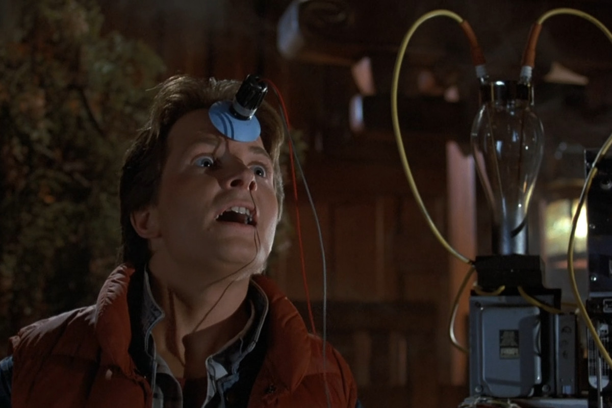 back to the future is the strangest and best film in the