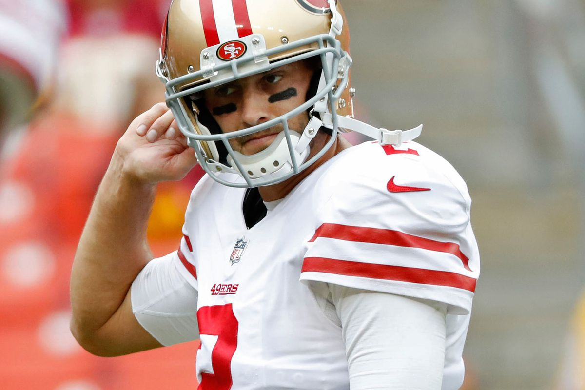 f7f2739a8 Brian Hoyer Patriots contract includes minimal 49ers salary offset ...