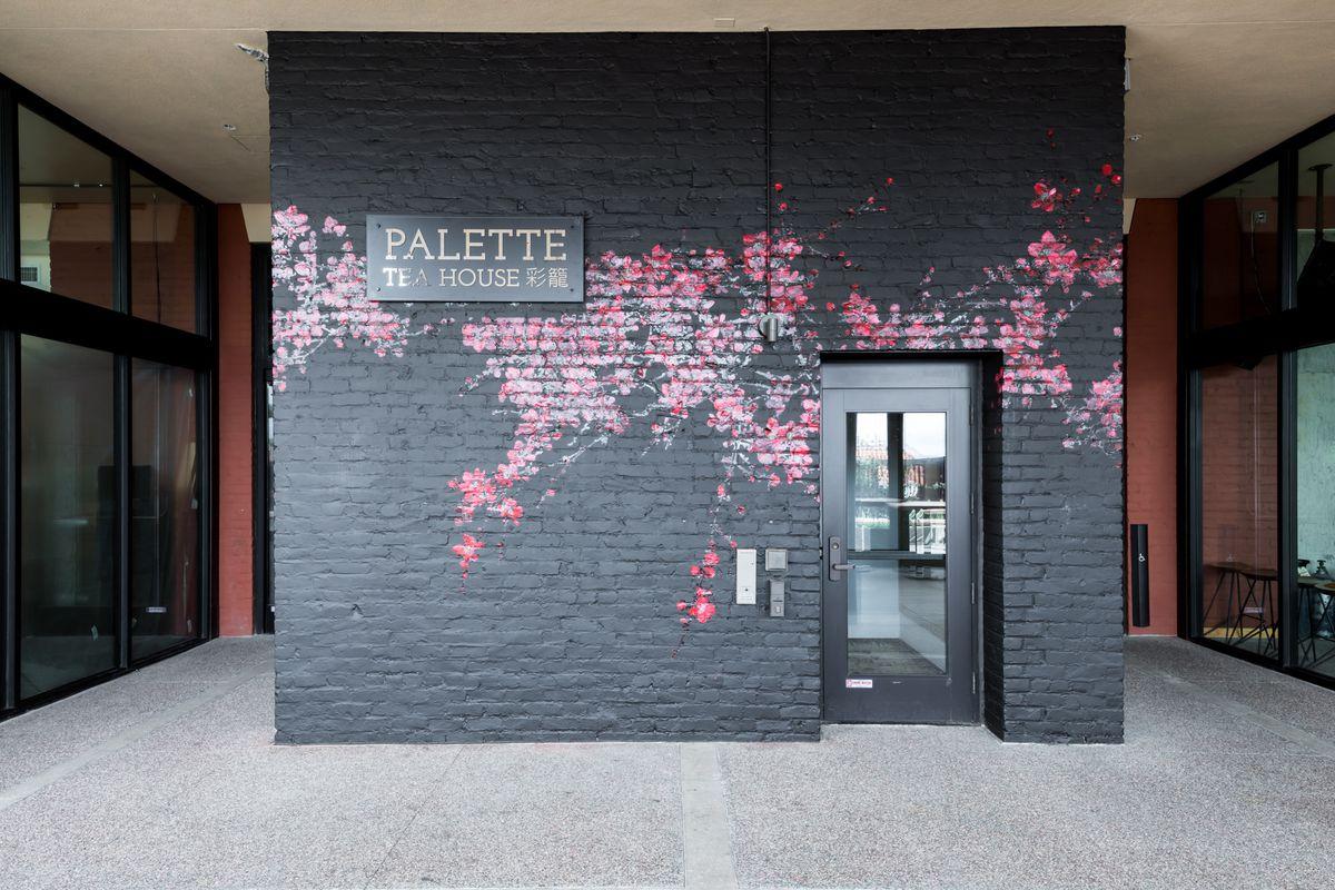 Entrance to Palette Tea House