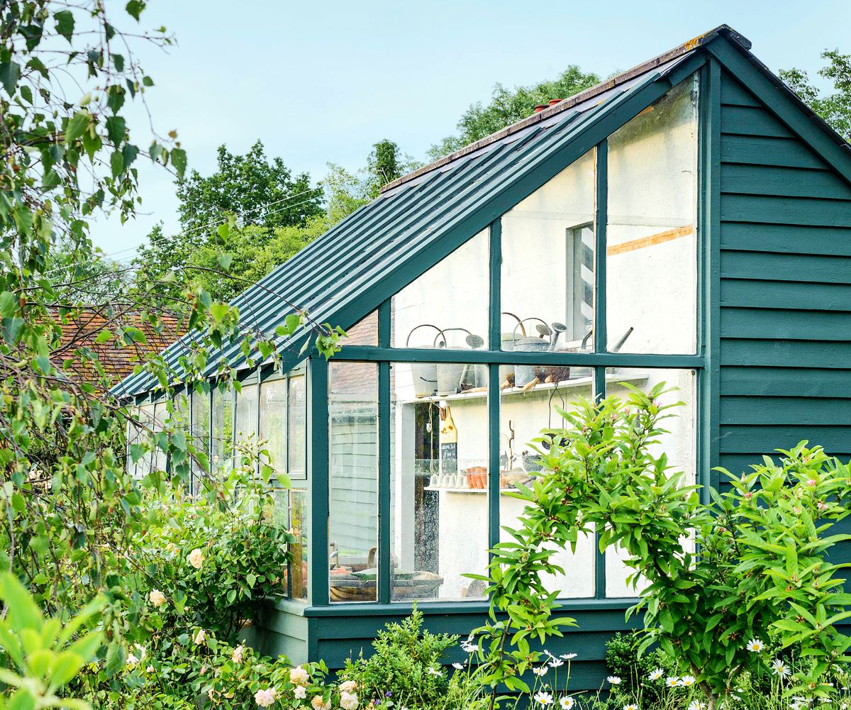 Greenhouse Hybrid Garden Shed