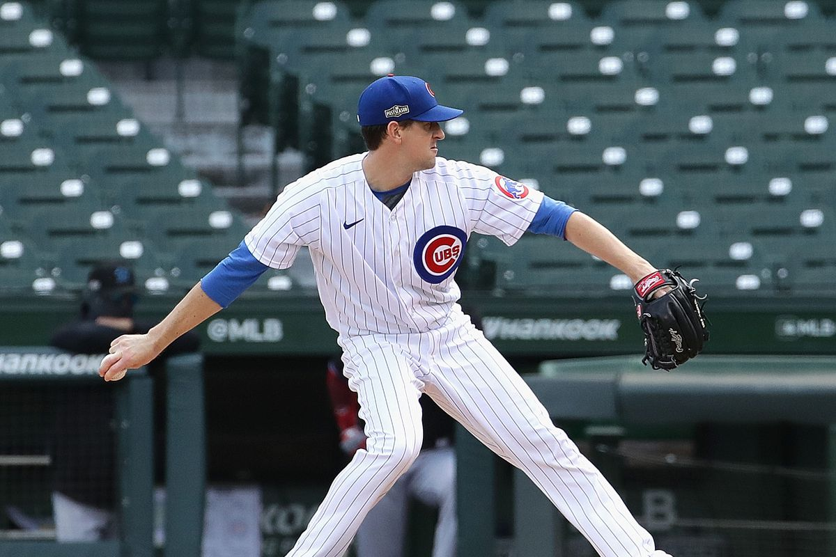 Last time Kyle Hendricks pitched at Wrigley — in the playoffs against the Marlins — fans were stuck at home.