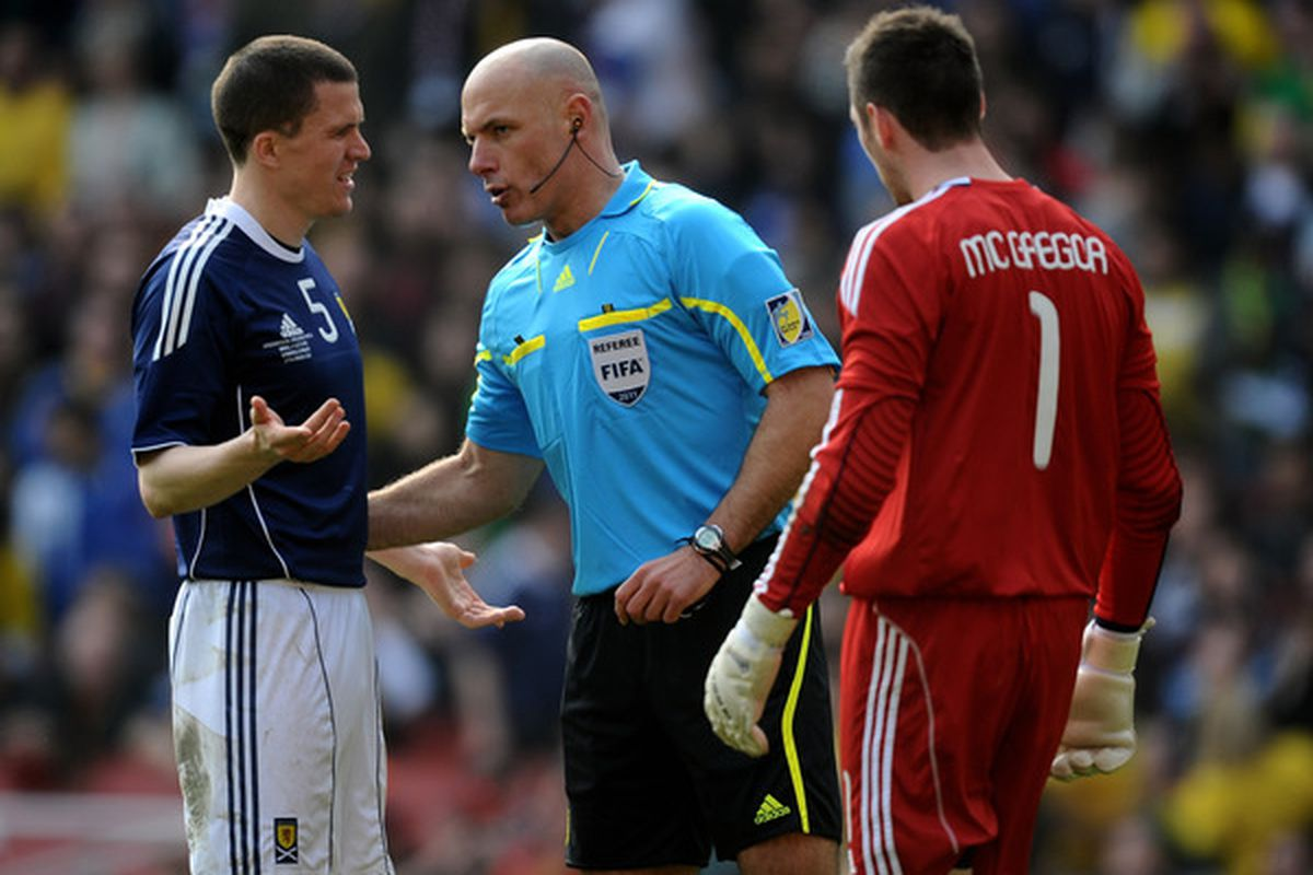 Gary Caldwell and Scotland disappointment, as they lose to Spain