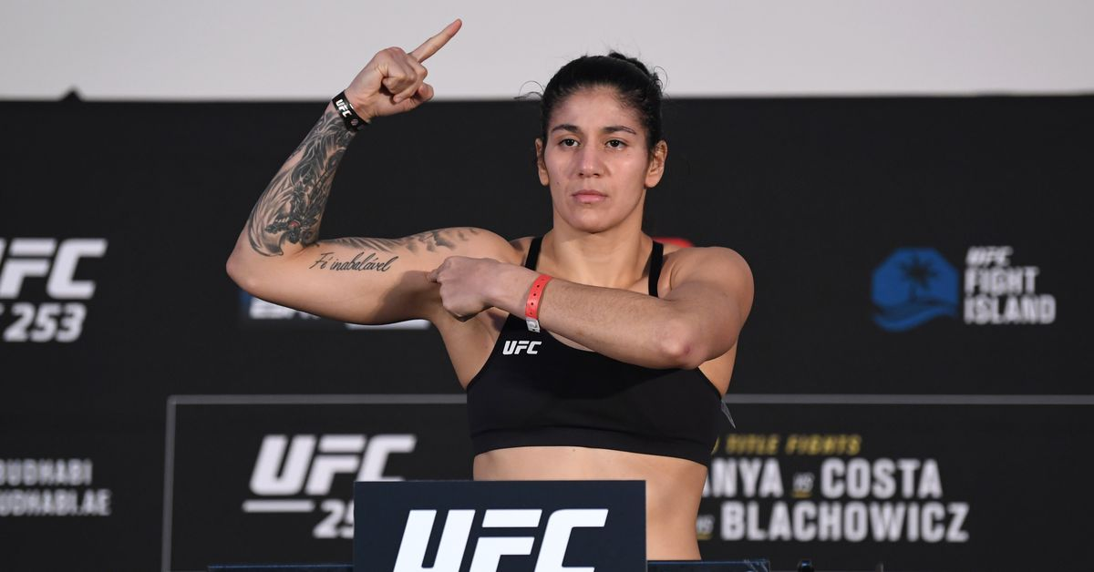 UFC 253's Ketlen Vieira still doesn't feel 'safe' fighting during a pandemic, but 'it's time to move on'