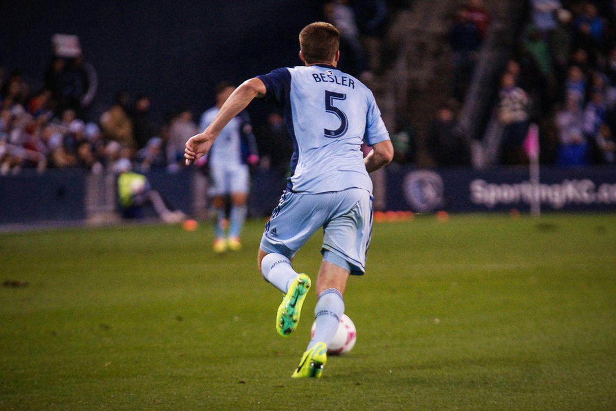 Kansas City native Matt Besler wants to bring the MLS Cup home