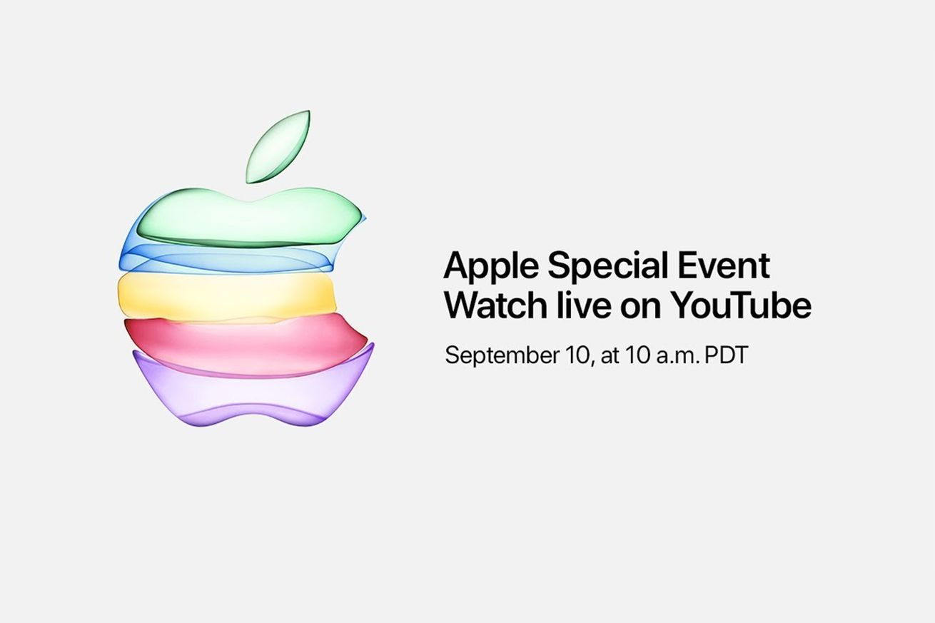 Apple will live stream its iPhone 11 event on YouTube for the first time