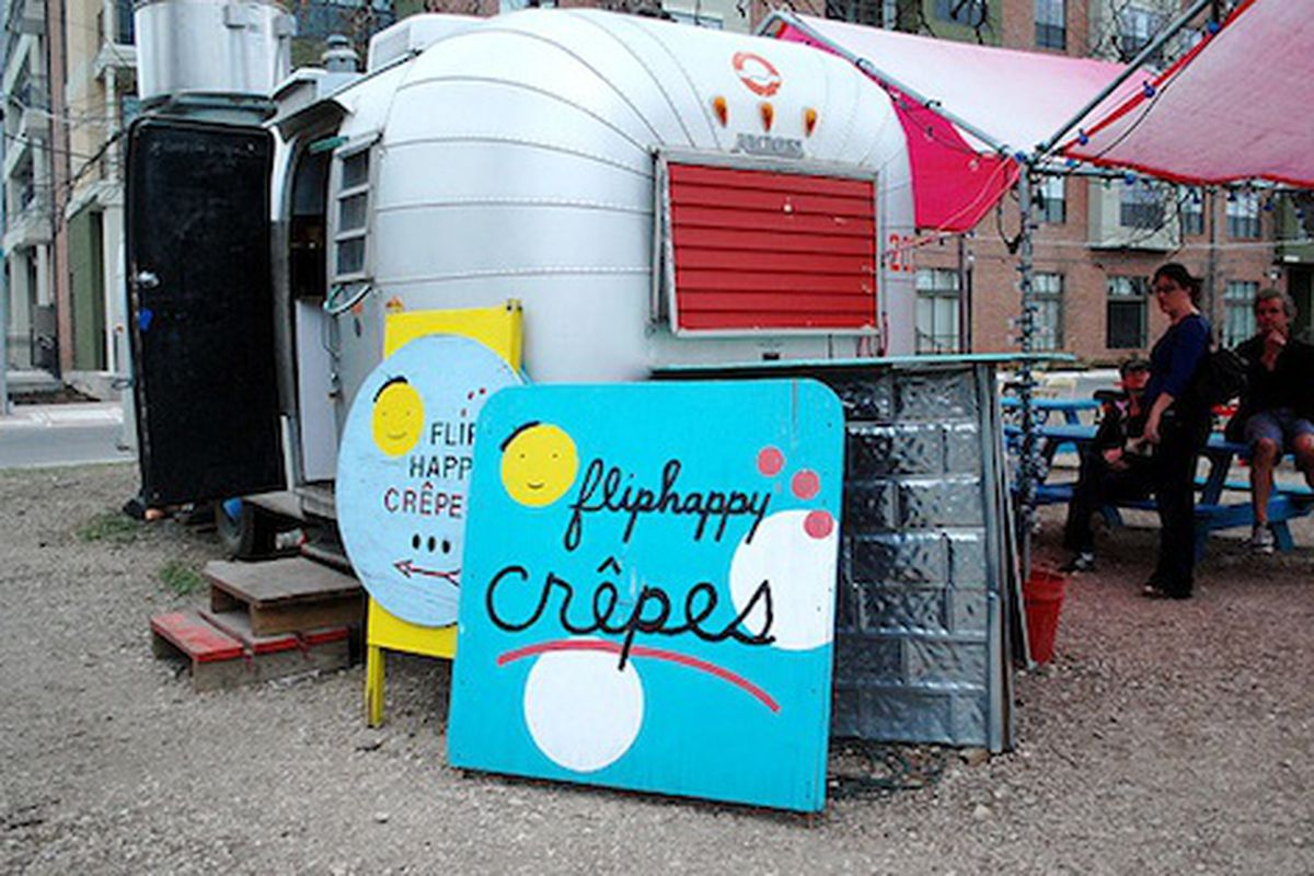 Flip Happy Crepes.