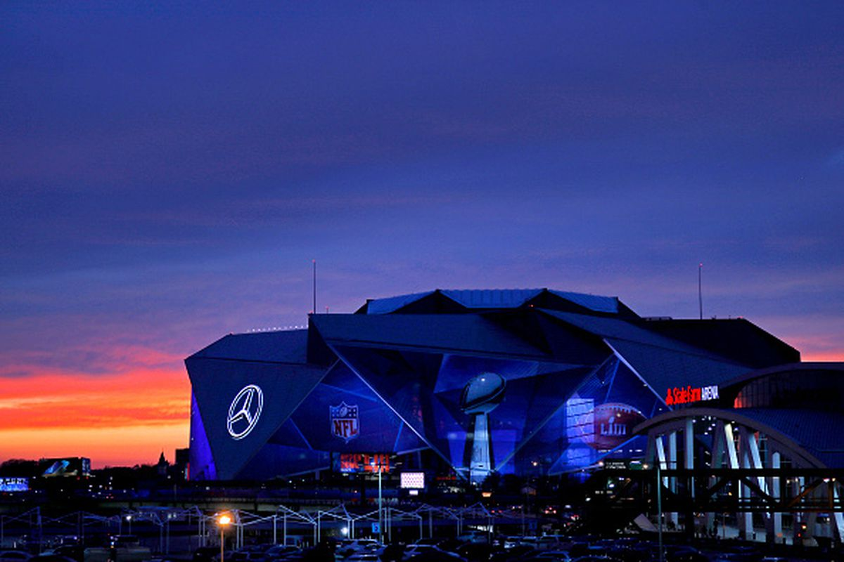 The Benz's gussied-up exterior on January 27.
