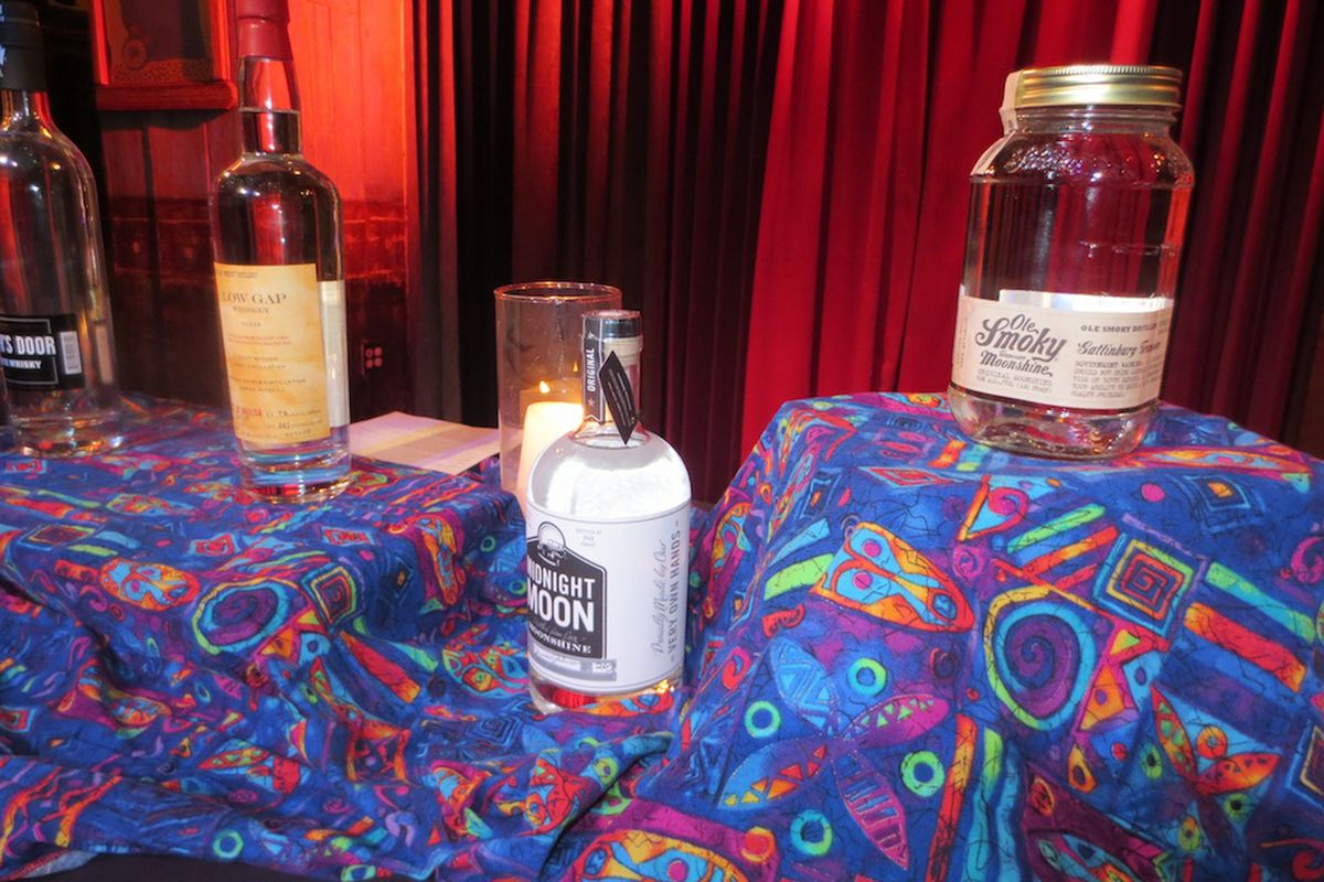 White whiskeys at House of Blues