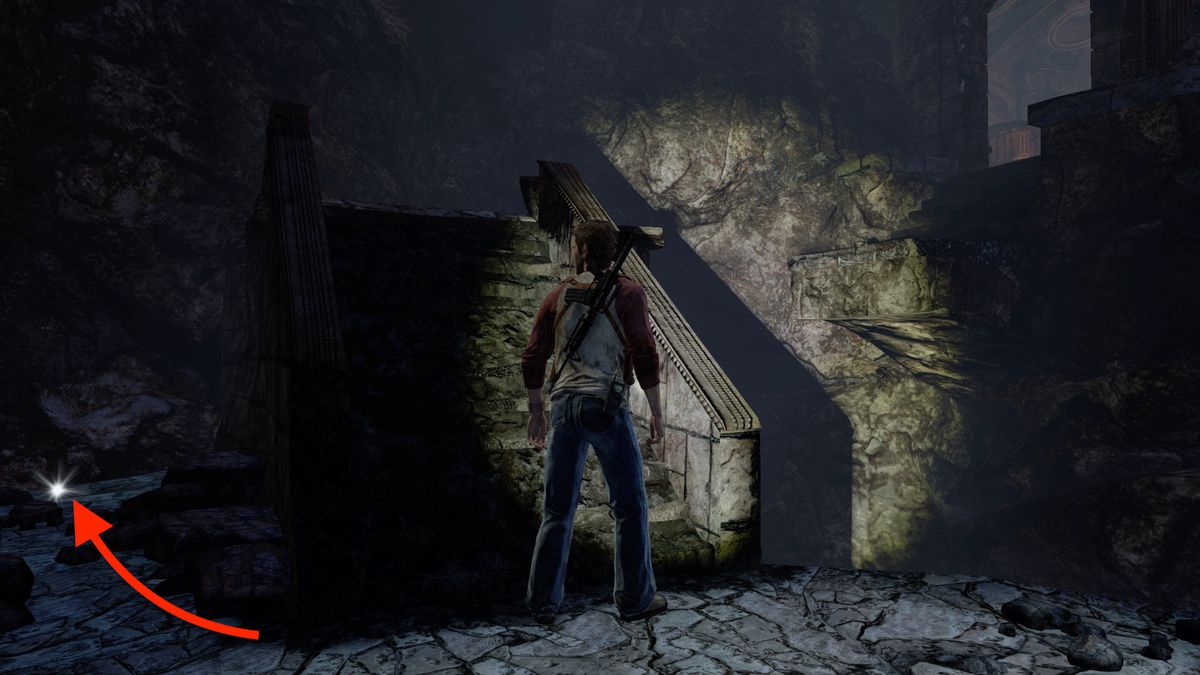Uncharted: Drake's Fortune Chapter 14 collectible treasure locations