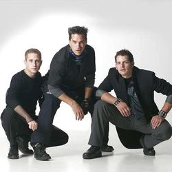 """The boy band """"Everclean"""" featured in the mockumentary """"Sons of Provo."""" Kirby Laybourne (Kirby Heyborne), Will Jensen (Will Swenson) and Danny Jensen (Danny Tarasevich)."""