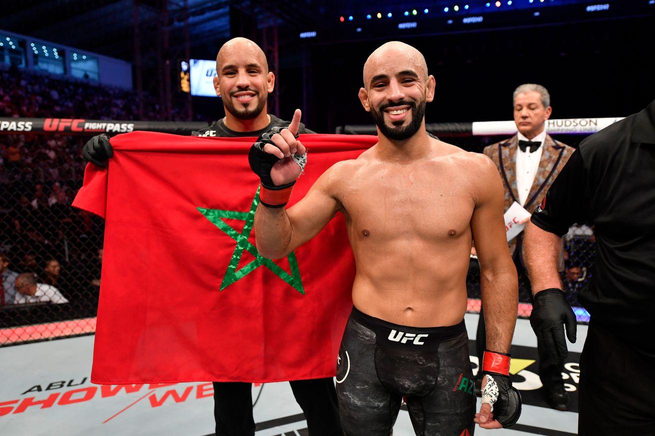 UFC 242: Azaitar v Packalen