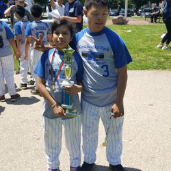 Susie Cruz poses with her brother after a Special Olympics competition. | Provided