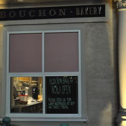 The exterior of Bouchon Bakery.
