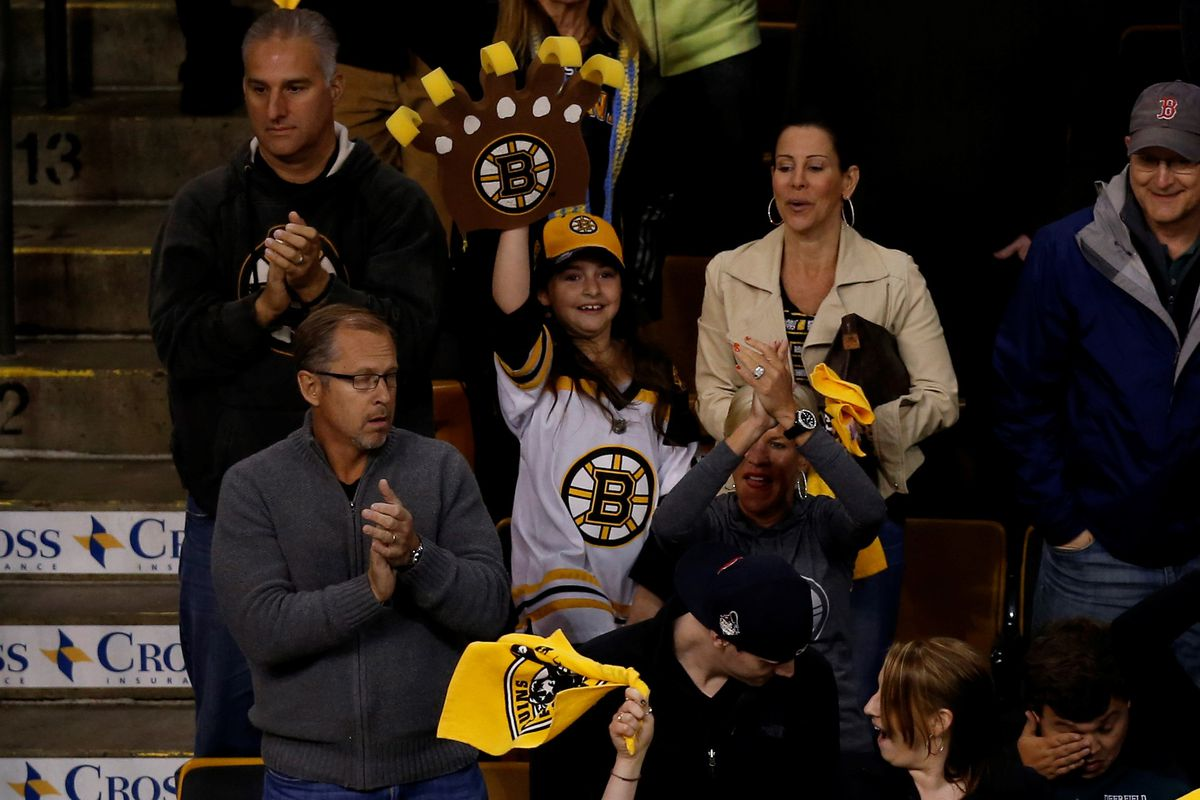 Cheer up, Bruins fans!