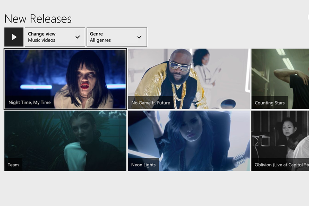 Music videos arrive in Xbox Music app on Xbox One - Polygon