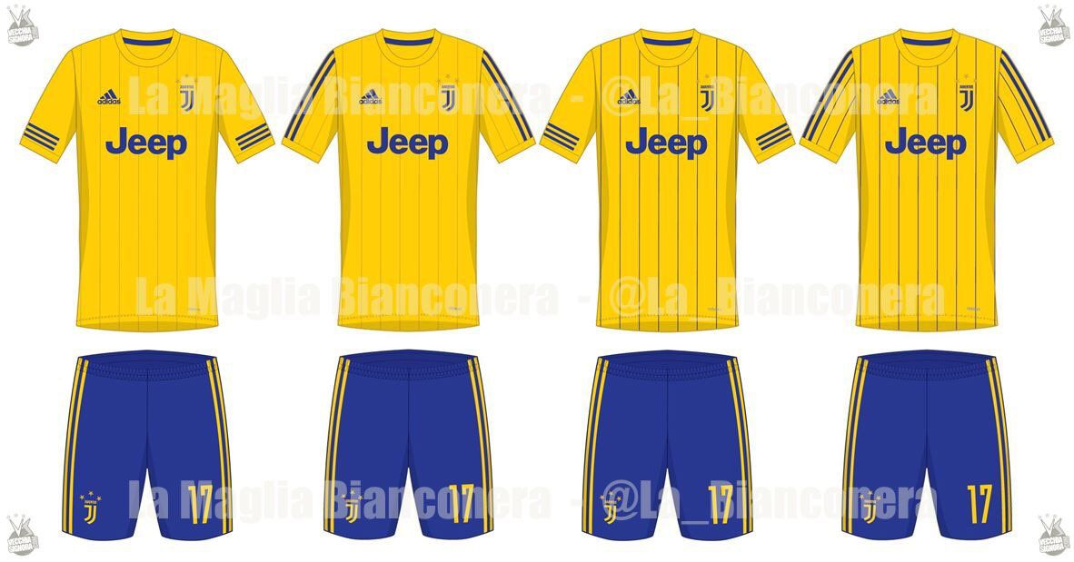 5639c2e35 The first round of leaked Juventus kits for the 2017-18 season have ...