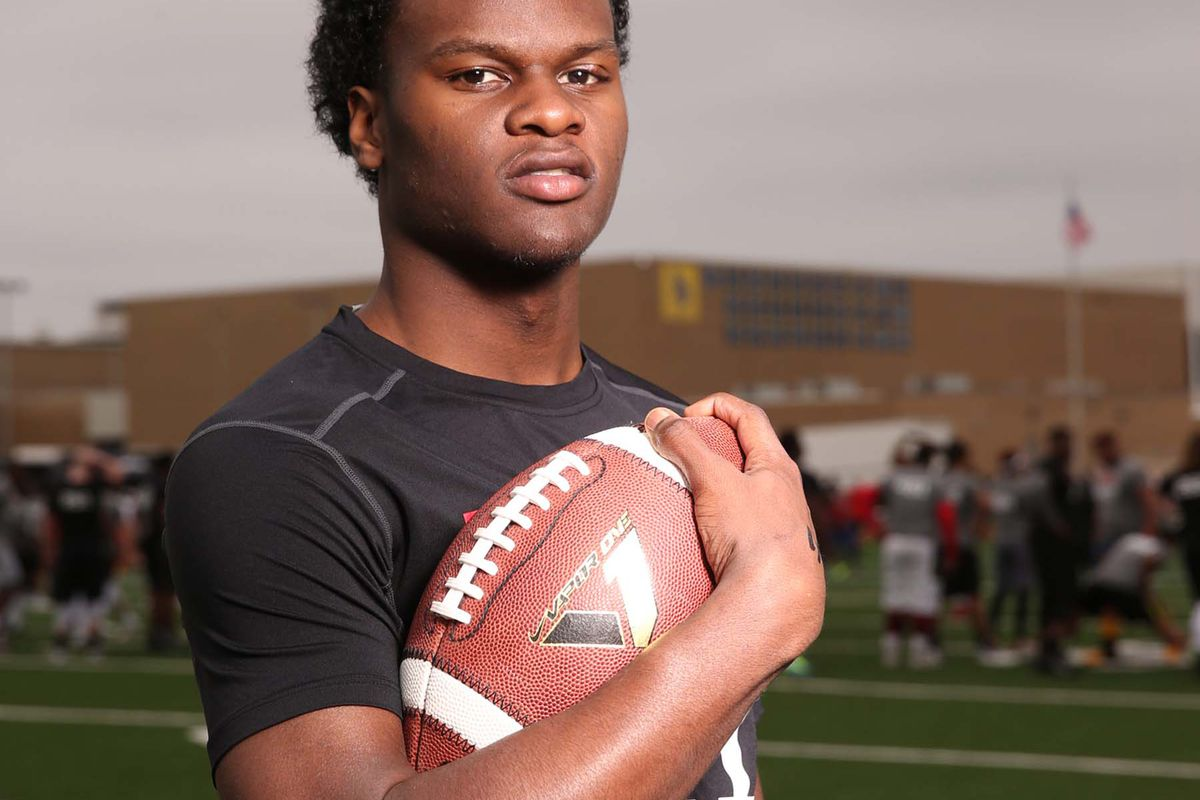 WR commit Tren'Davian Dickson had 126 receiving yards and 2 TDs in his team's season opener.