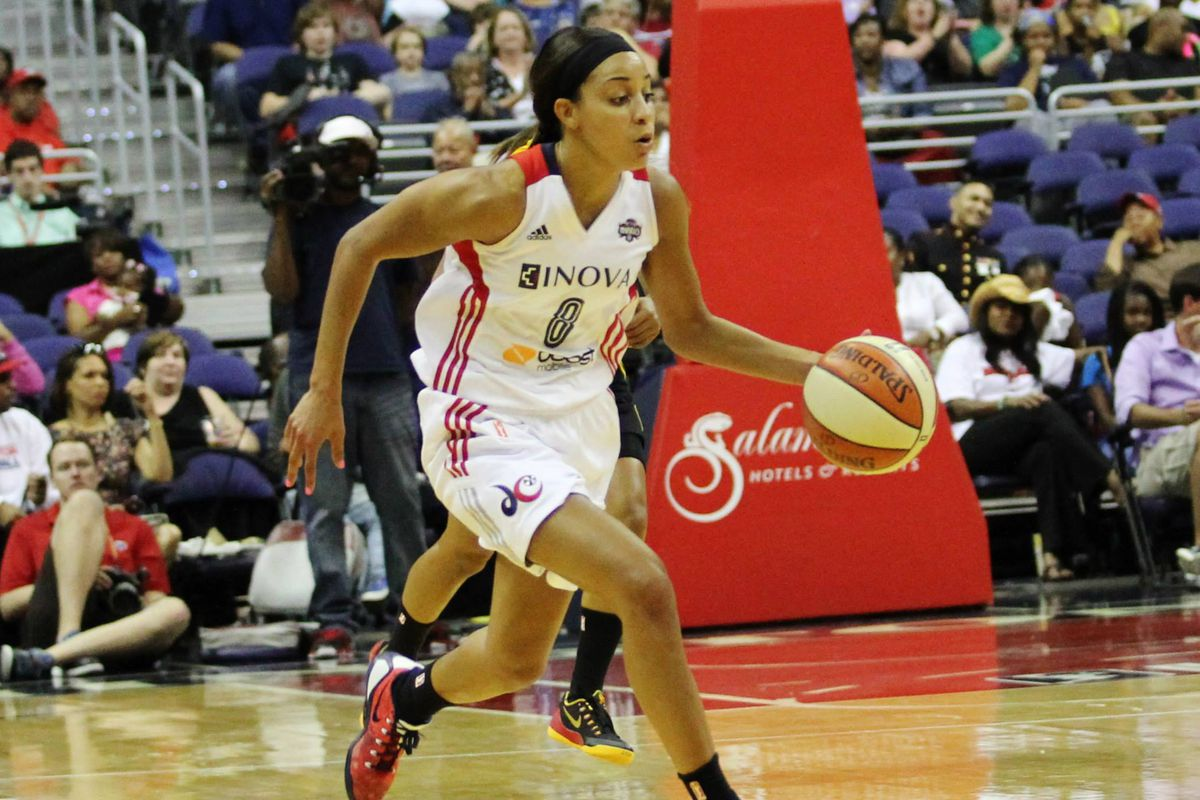 """The Washington Mystics' acquisition of Bria Hartley is an example of a """"slash-and-burn"""" roster move. I'd like to say that she's doing just fine in D.C."""