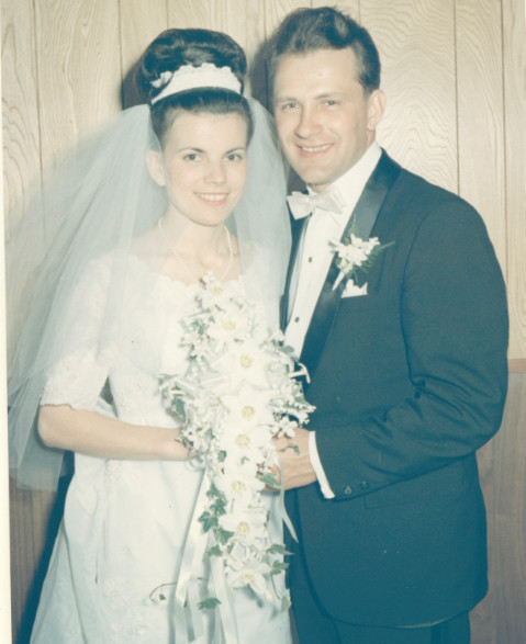 Antal and Eleonor Gacs met at the old Zum Deutschen Eck restaurant on the North Side and married in 1965 at St. Alphonsus Church. | Provided photo