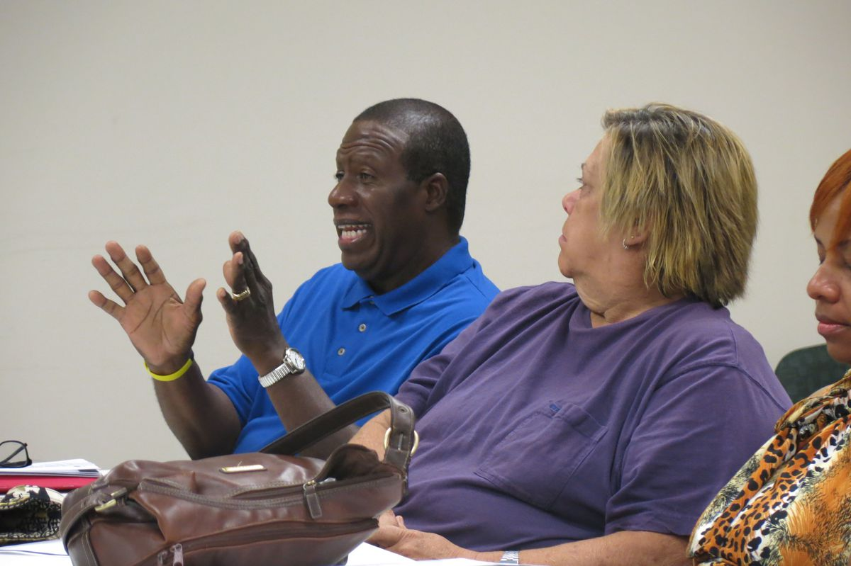 Displaced teacher David Johnson is close to retirement, but still wants to work in the classroom