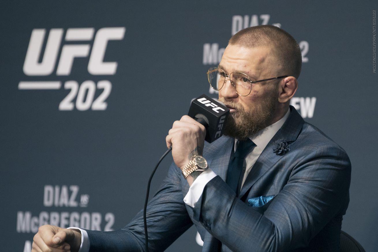Conor McGregor post-UFC 202