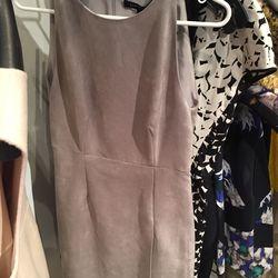 Lyn Devon suede harbor dress, $630 (was $1,575)