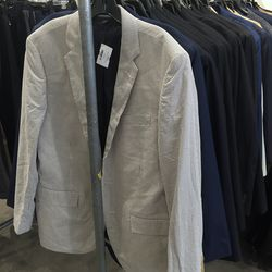 Blazers and suiting jackets, $120