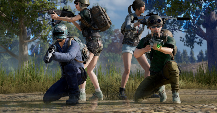 PUBG players on Xbox One and PS4 can party up now