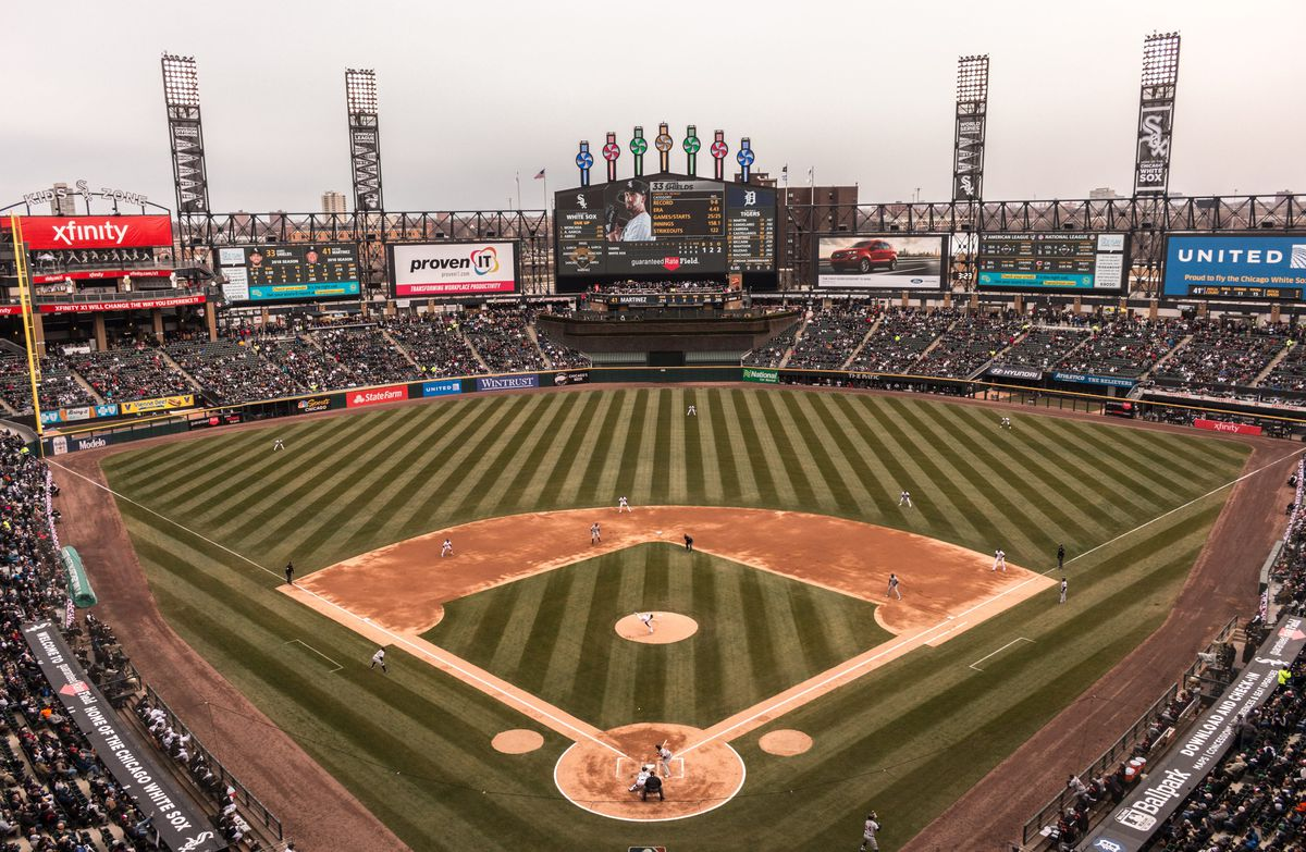 A man was hospitalized after a fight during a White Sox game
