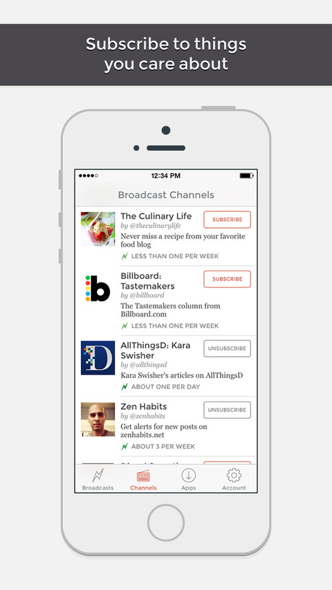 App net crawls out from Twitter's shadow with Broadcast