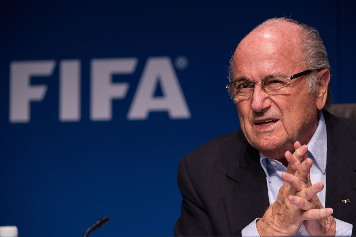 FIFA president Sepp Blatter was just re-elected to a fifth term.