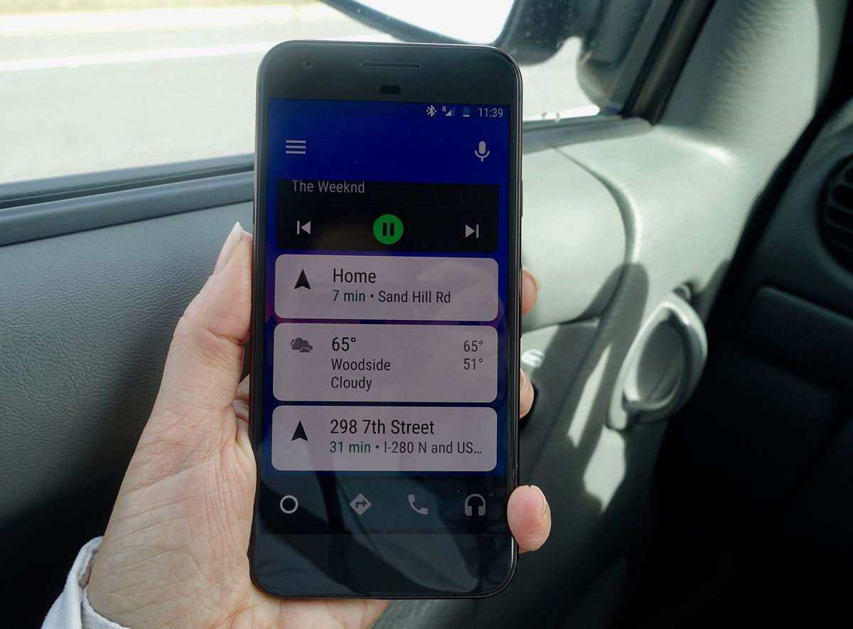You no longer have to buy a new car or stereo to use Android