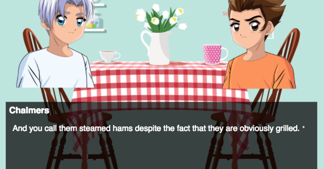 The Steamed Hams sketch is now playable, folks