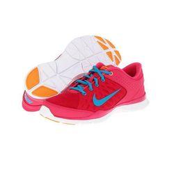 "<b>Nike</a> <a href=""http://www.zappos.com/nike-flex-trainer-3-pink-force-bright-citrus-white-neo-turquoise?ef_id=1CJOVC6cmQIAAMHr:20130625015846:s&zfcTest=fcl%3A0"">Flex Trainer 3</a> in Pink Force/Bright Citrus/White/Neo Turquoise, $65"