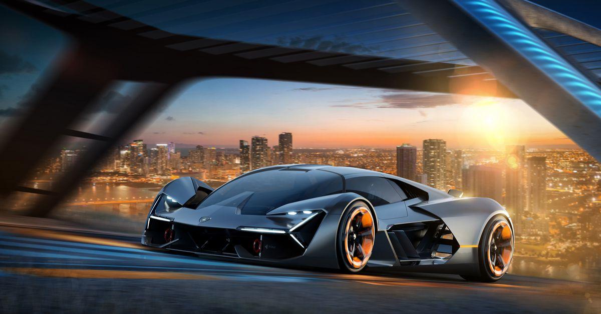 The Lamborghini Terzo Millennio concept is a lightning strike from the future