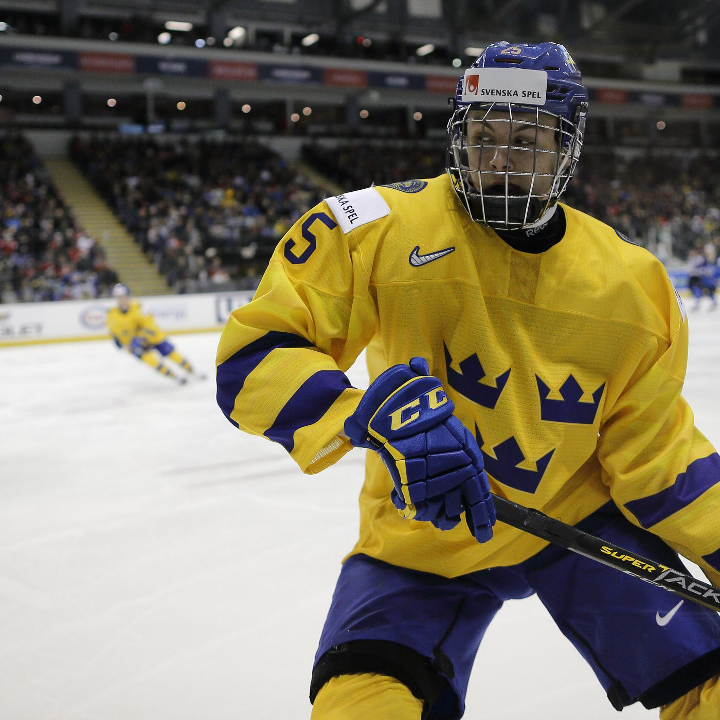 Philip Broberg 2019 Nhl Draft Profile Stats Analysis And