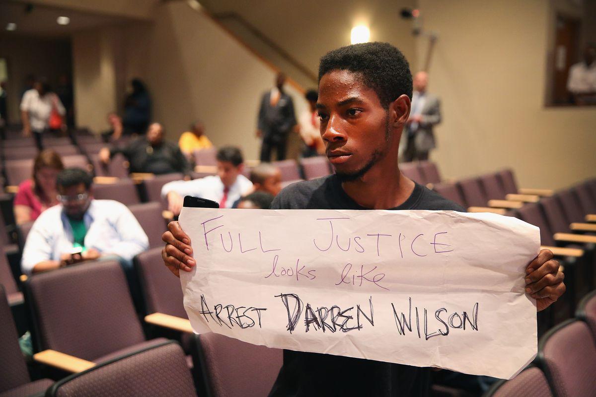 Arrest Wilson protestor