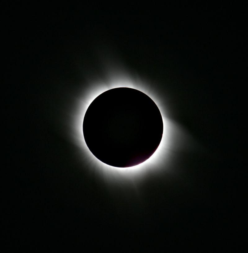 solar eclipse of the sun image