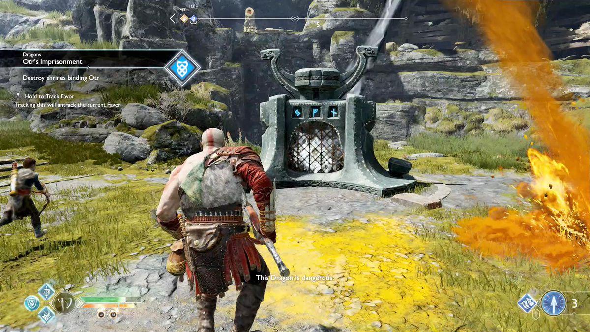 God of War guide Otr's Imprisonment