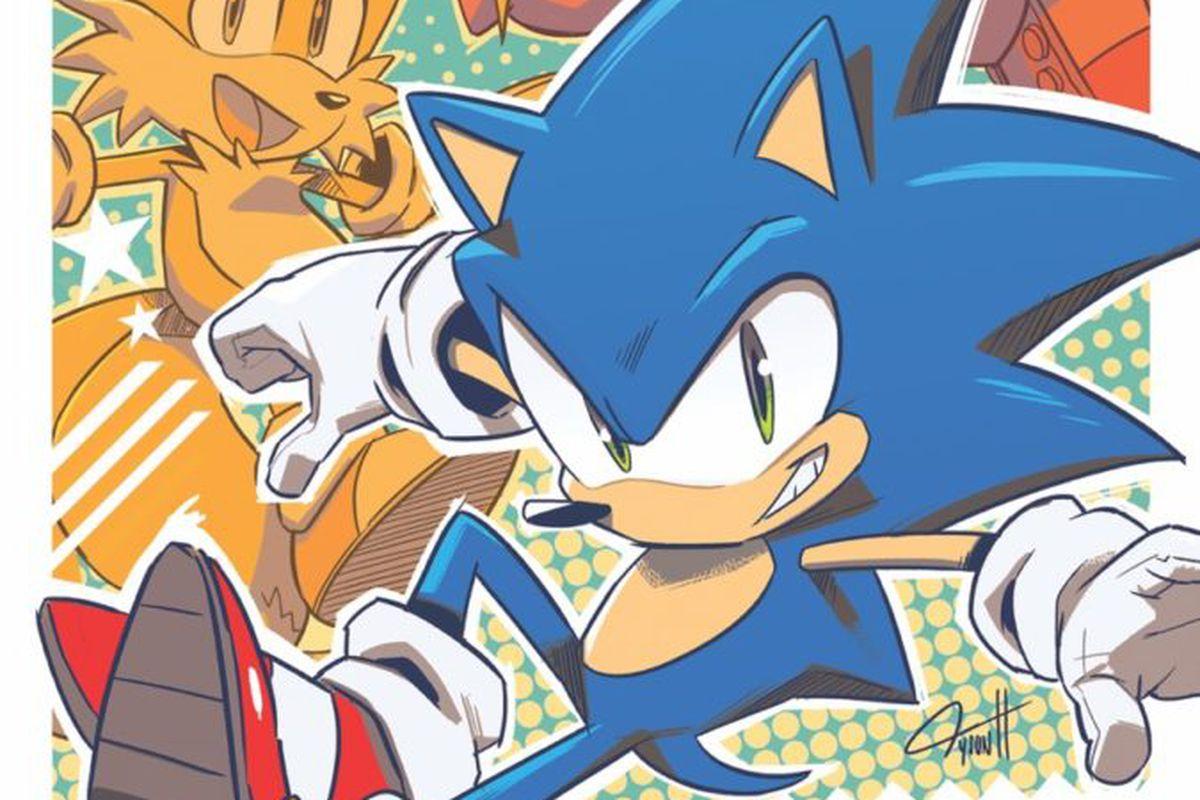 Sonic The Hedgehog S Next Comics Get A Fantastic Facelift Correction Polygon