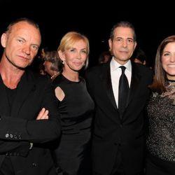 Sting, Trudie Styler, TIME Managing Editor Rick Stengel and VP Publisher Kim Kelleher